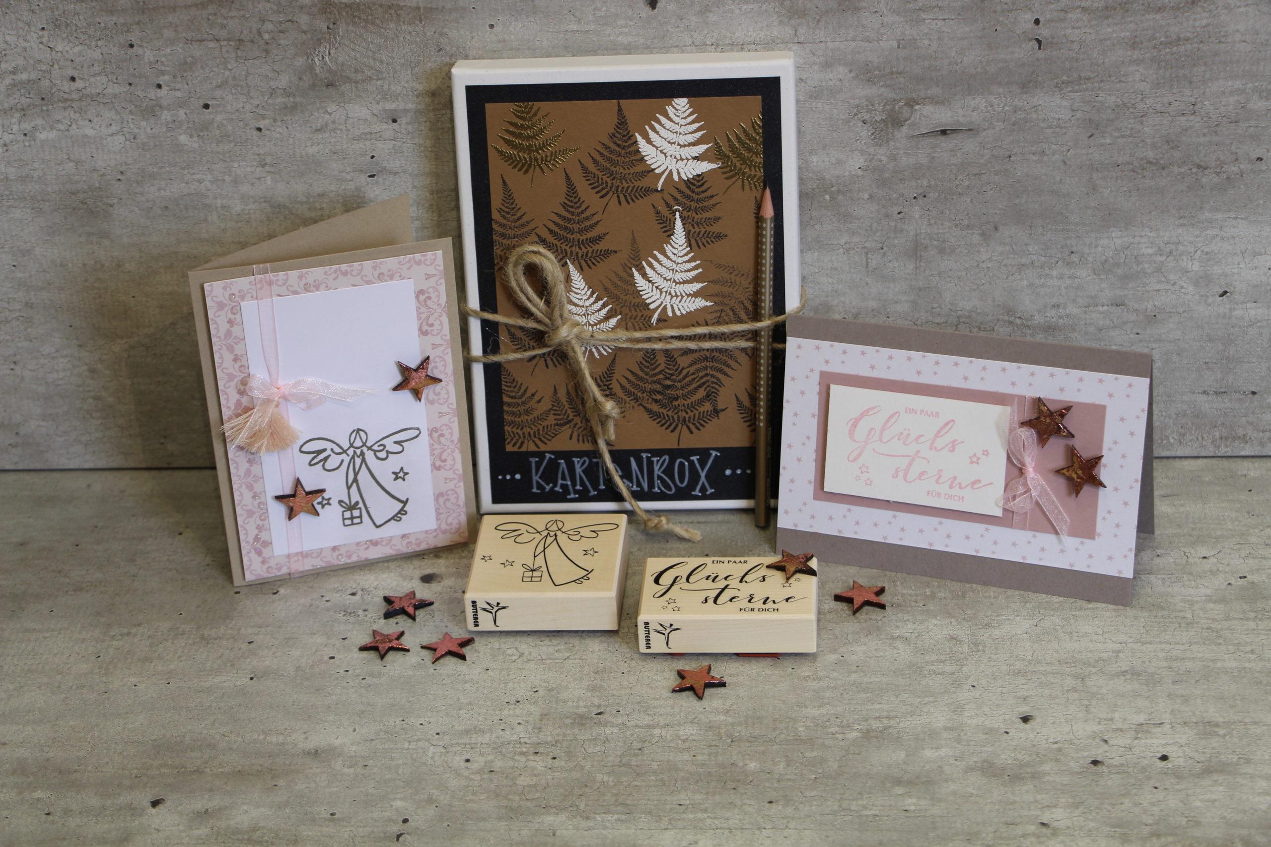 Gestalten Sie ihre einzigartigen Weihnachtskarten
